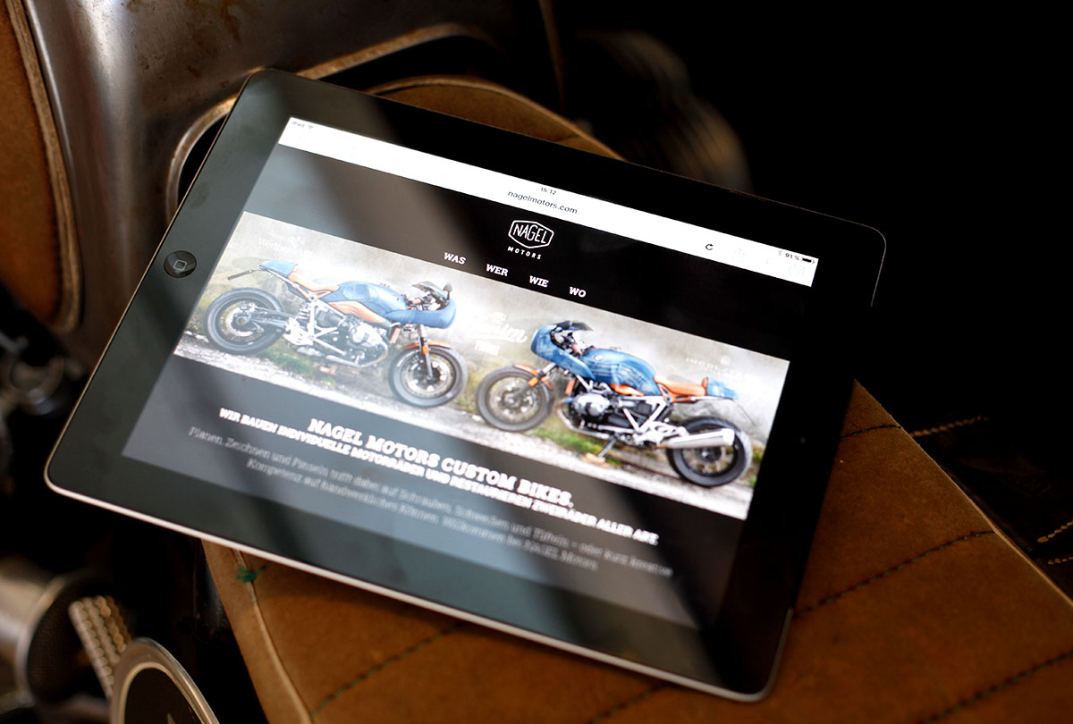 NAGEL Motors Website