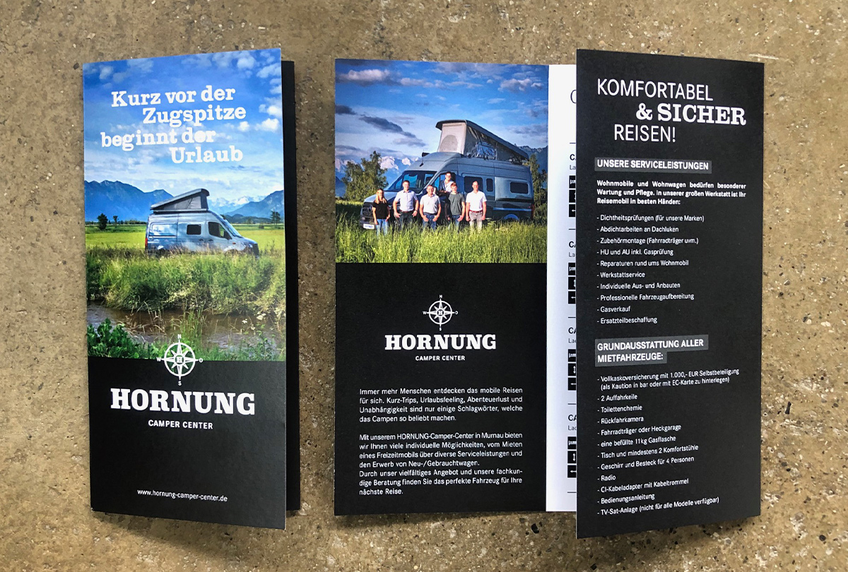 Hornung-Camper-Center – Flyer