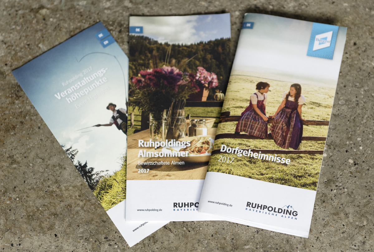 Ruhpolding Tourismus GmbH - Flyer